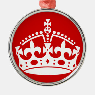 britain british crown queen ornament