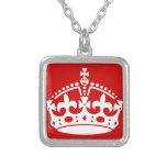 britain british crown queen necklace