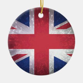 Britain Flag Christmas Ornaments