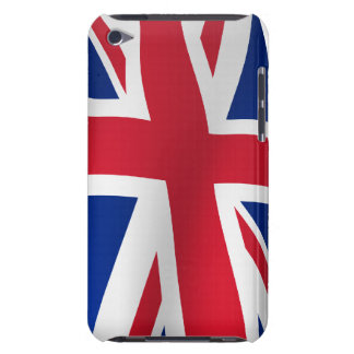 Britain flag on a pole barely there iPod cases