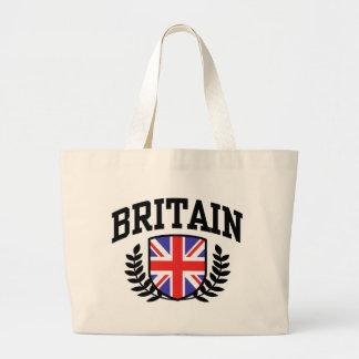Britain Large Tote Bag