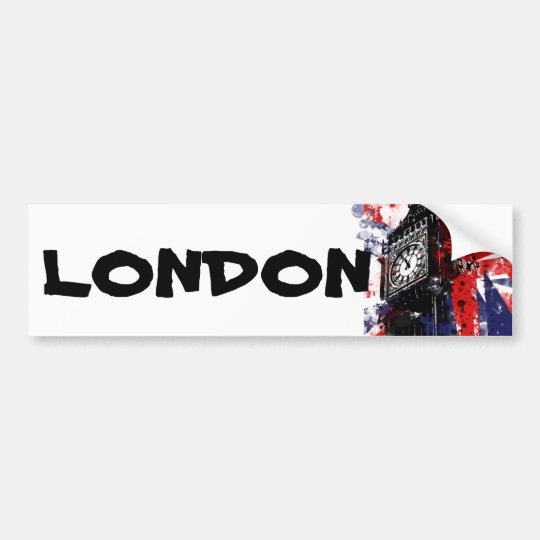 Britain - London Bumper Sticker