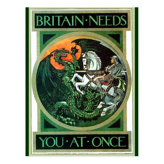 Britain Needs - Postcard