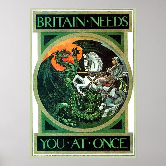 Britain Needs - Poster