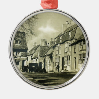 Britain - Vintage Travel Poster Christmas Ornament