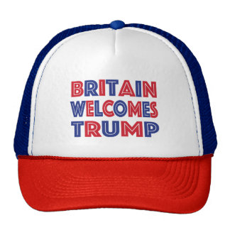 Britain Welcomes Trump Cap