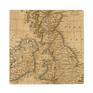 Britain Wood Coaster
