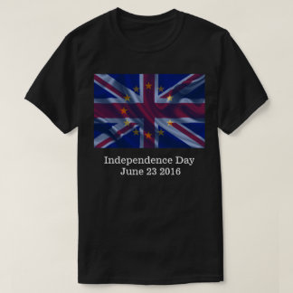 Britain's Independence Day 2016 Brexit Tee Shirts