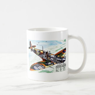 Britain's New Spitfire Coffee Mugs