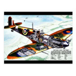 Britain's New Spitfire Postcard