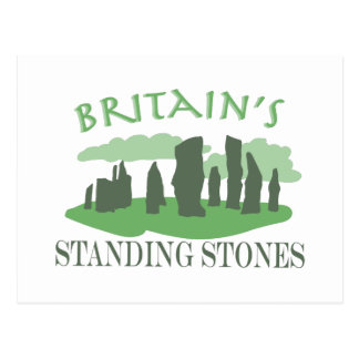 Britains Standing Stones Postcard