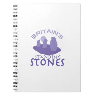 Britains Standing Stones Spiral Notebooks
