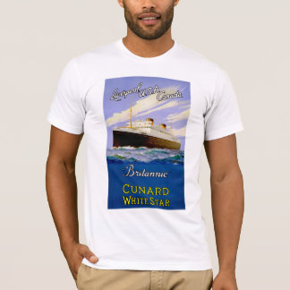 Britannic ~ Liverpool, USA, Canada T-Shirt