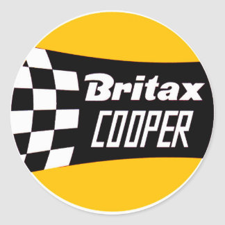 Britax Mini Cooper Sticker