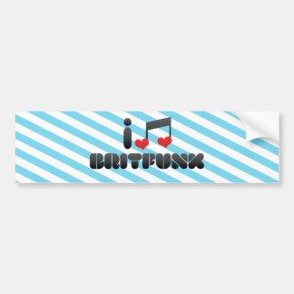 Britfunk Bumper Sticker