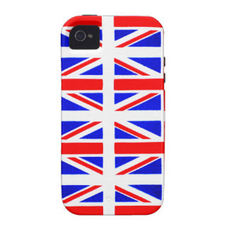 BRITIAN FLAG VIBE iPhone 4 COVERS