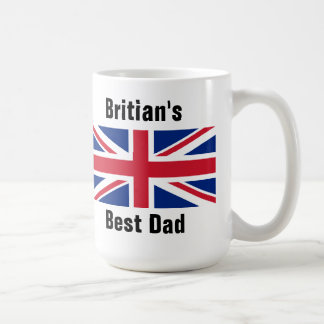 Britian's best Dad Basic White Mug