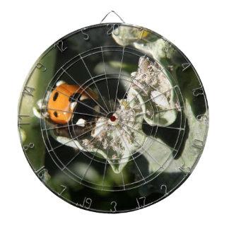 British 7 Spot Ladybug Dart Board