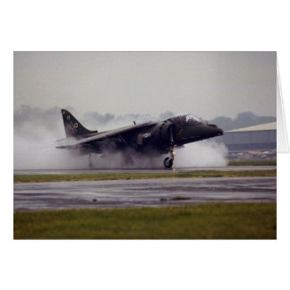 British Aerospace Harrier GR-7 from Wittering, Ess Greeting Card