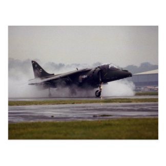 British Aerospace Harrier GR-7 from Wittering, Ess Postcard