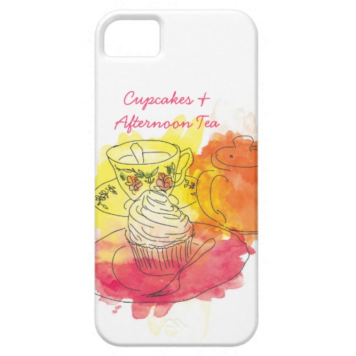British Afternoon Tea Case For The iPhone 5