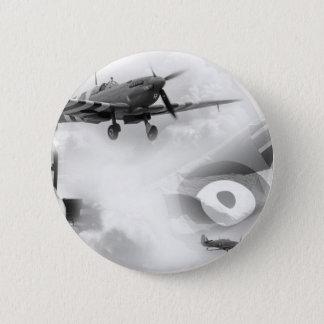 British Air Force Commemorative 6 Cm Round Badge