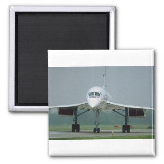 British Airways Concorde on taxi way Fridge Magnets