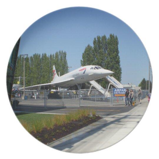 British Airways Concorde Plate