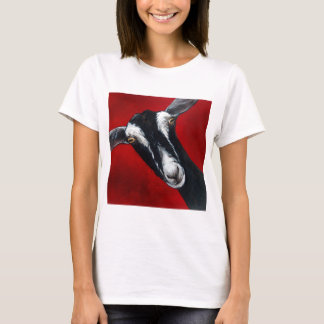 British Alpine Goat  by Suzy Sharpe T-Shirt