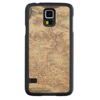 British America 2 Carved Maple Galaxy S5 Case