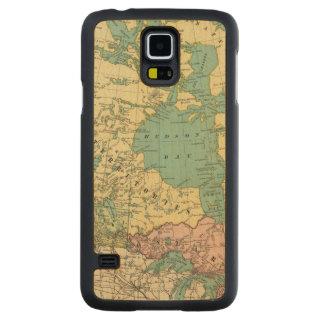 British America Carved Maple Galaxy S5 Case