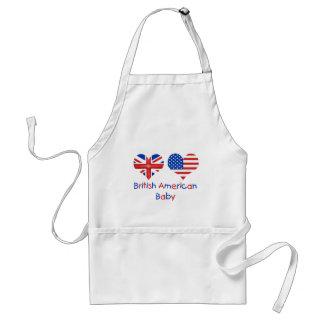 British American Baby Standard Apron