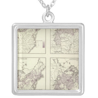 British American, English, Welsh, Swedish Silver Plated Necklace