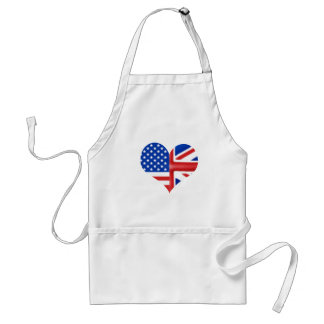 British American Heart Standard Apron