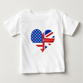 British American Heart Baby T-Shirt
