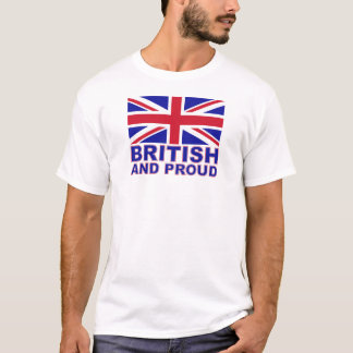 British and Proud T-Shirt