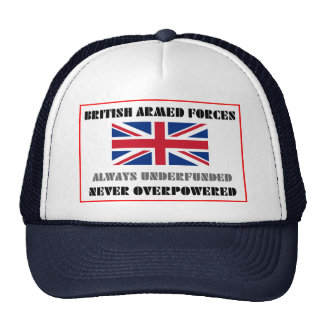 British Armed Forces Mesh Hat