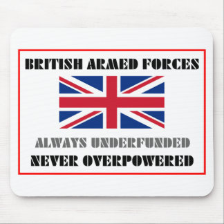 British Armed Forces Mouse Pad