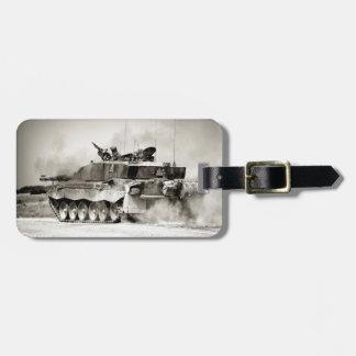 British Army Challenger 2 Main Battle Tank Bag Tag