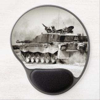 British Army Challenger 2 Main Battle Tank Gel Mouse Mat