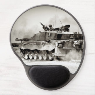 British Army Challenger 2 Main Battle Tank Gel Mouse Pad