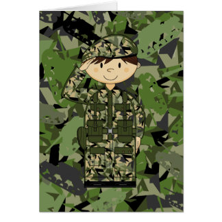 British Army Soldier Card