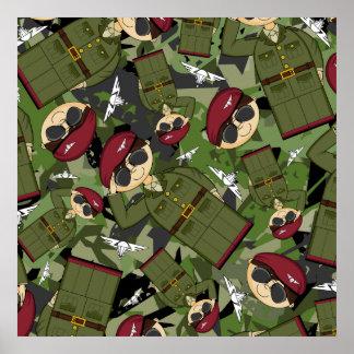 British Army Soldier Framed Print