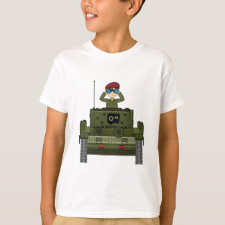 British Army Soldier in Tank Tee