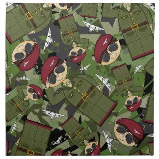 British Army Soldier Napkin
