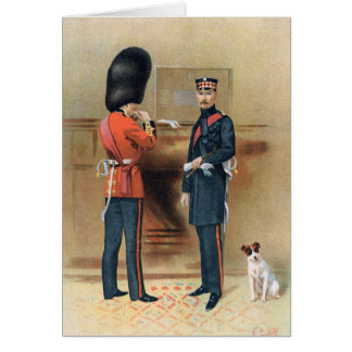 British Army - The Scots Guards Card