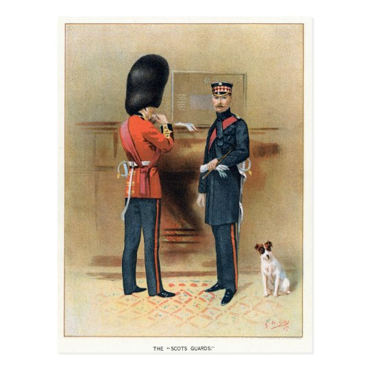 British Army - The Scots Guards Postcard
