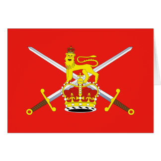 British Army, United Kingdom Card