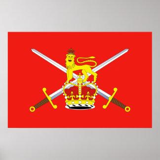 British Army, United Kingdom Poster