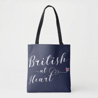 British At Heart Grocery Bag, UK Tote Bag